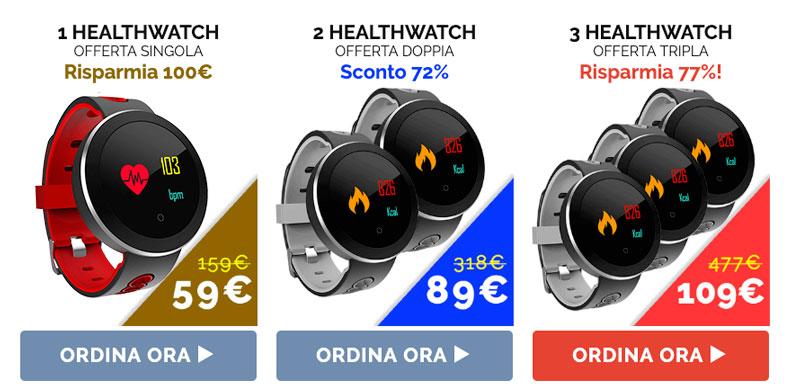 Costo di HealthWatch