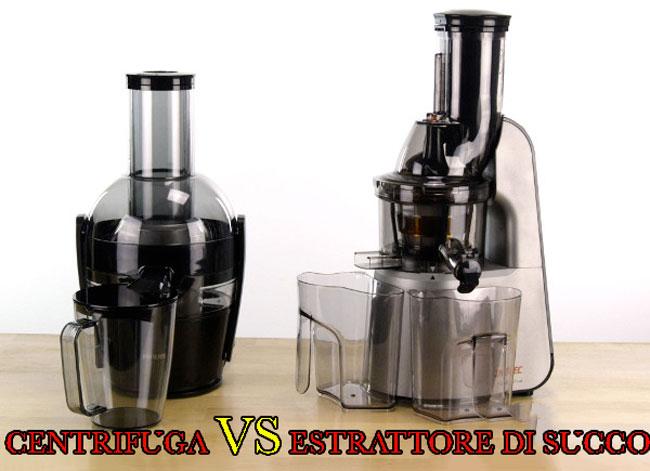 centrifuga vs estrattore di succo