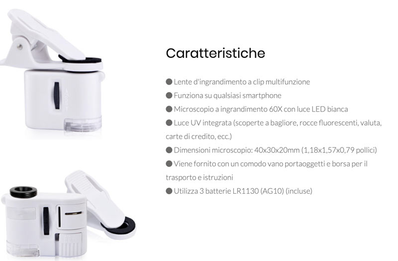 Caratteristiche di Smart Lens