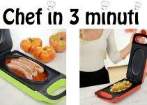 Piastra Chef in 3 minuti