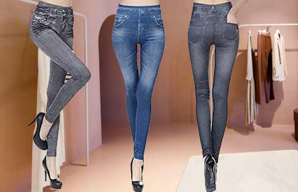 Pantaloni modellanti Slim Jeggins