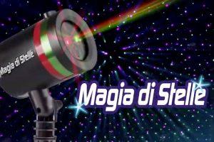 Magia di stelle proiettore natalizio