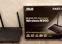 Modem router Asus