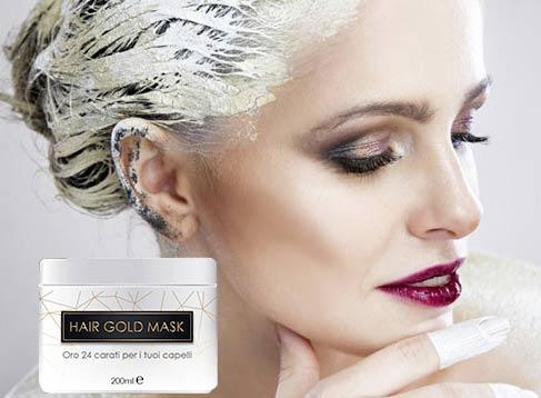 Come funziona Hair Gold Mask