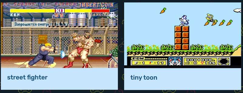 Giochi di G Retro Console