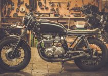 Casco da moto vintage