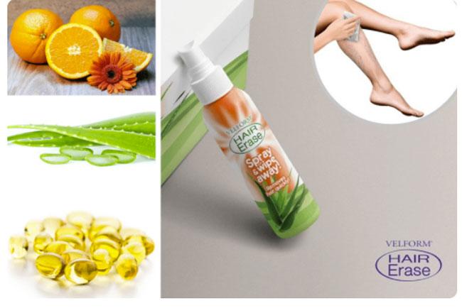 Ingredienti di Hair Erase