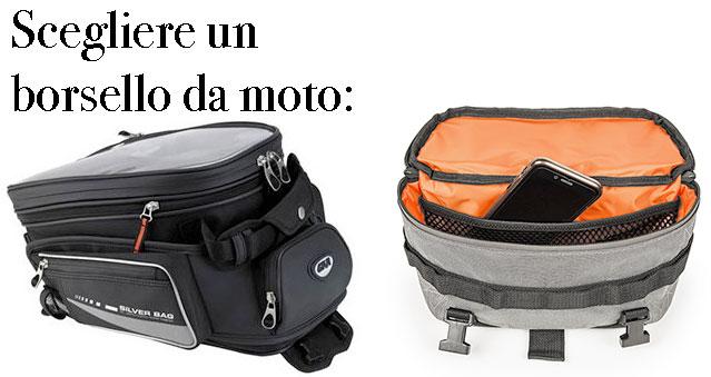 Scegliere un borsello da moto
