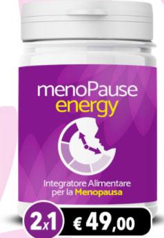 Menopause Energy integratore per la menopausa