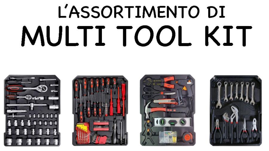 Assortimento di Multi Tool Kit