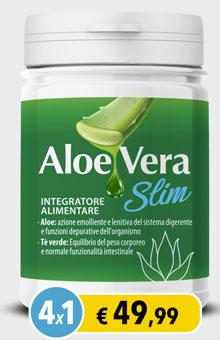 Flacone di Aloe Vera Slim
