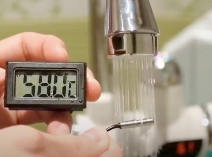 Funzionamento di Easy Water rubinetto elettrico
