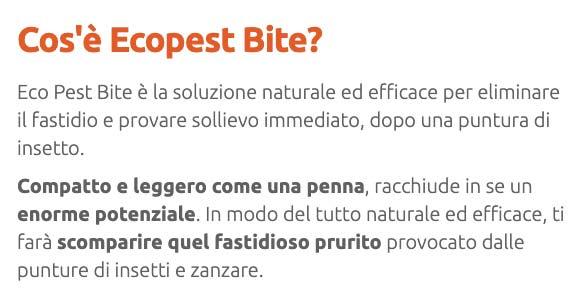 Come funziona Ecopest Bite