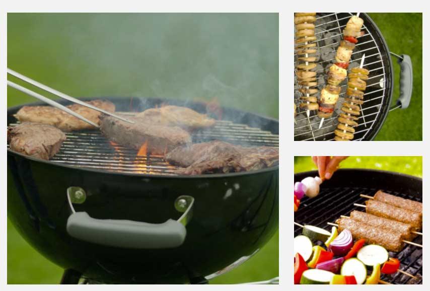Barbecue Grill Magic Bombo