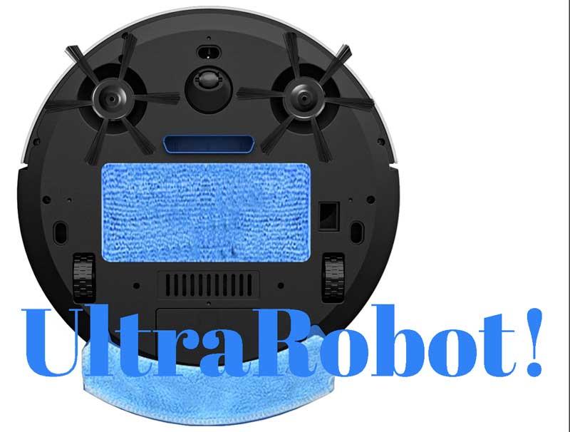 UltraRobot aspirapolvere robot