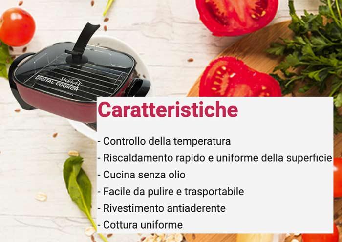 caratteristiche di Digital Cooker