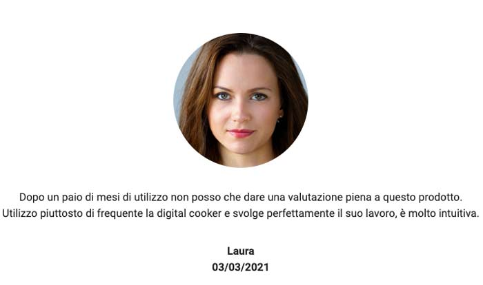 opinioni su Digital Cooker
