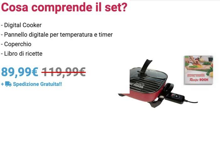 Prezzo di Digitale Cooker